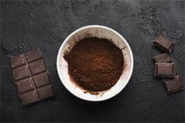 Az alkalizált kakaópor esetén intenzívebb a csokoládés íz