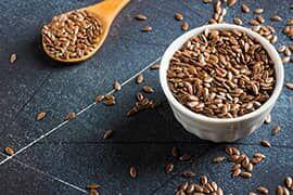 A lenmag kitűnő tápanyagforrás, omega 3 és omega 6 zsírsavakkal