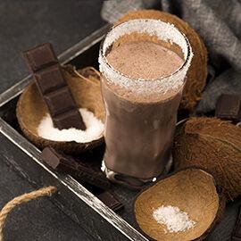 kókusztej ital csokoládés bulkshop