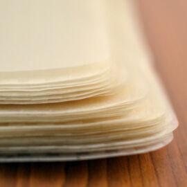 A rizspapírt tavaszi tekercs készítéséhez használhatjuk