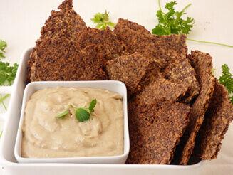Magkréker kesukrémmel recept bulkshop vegán plantbased növényi alapú