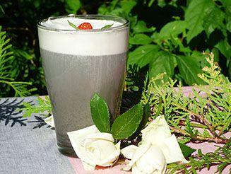 Fekete szezámtej, kapucsínó és édes krém recept bulkshop vegán növényi alapú plantbased